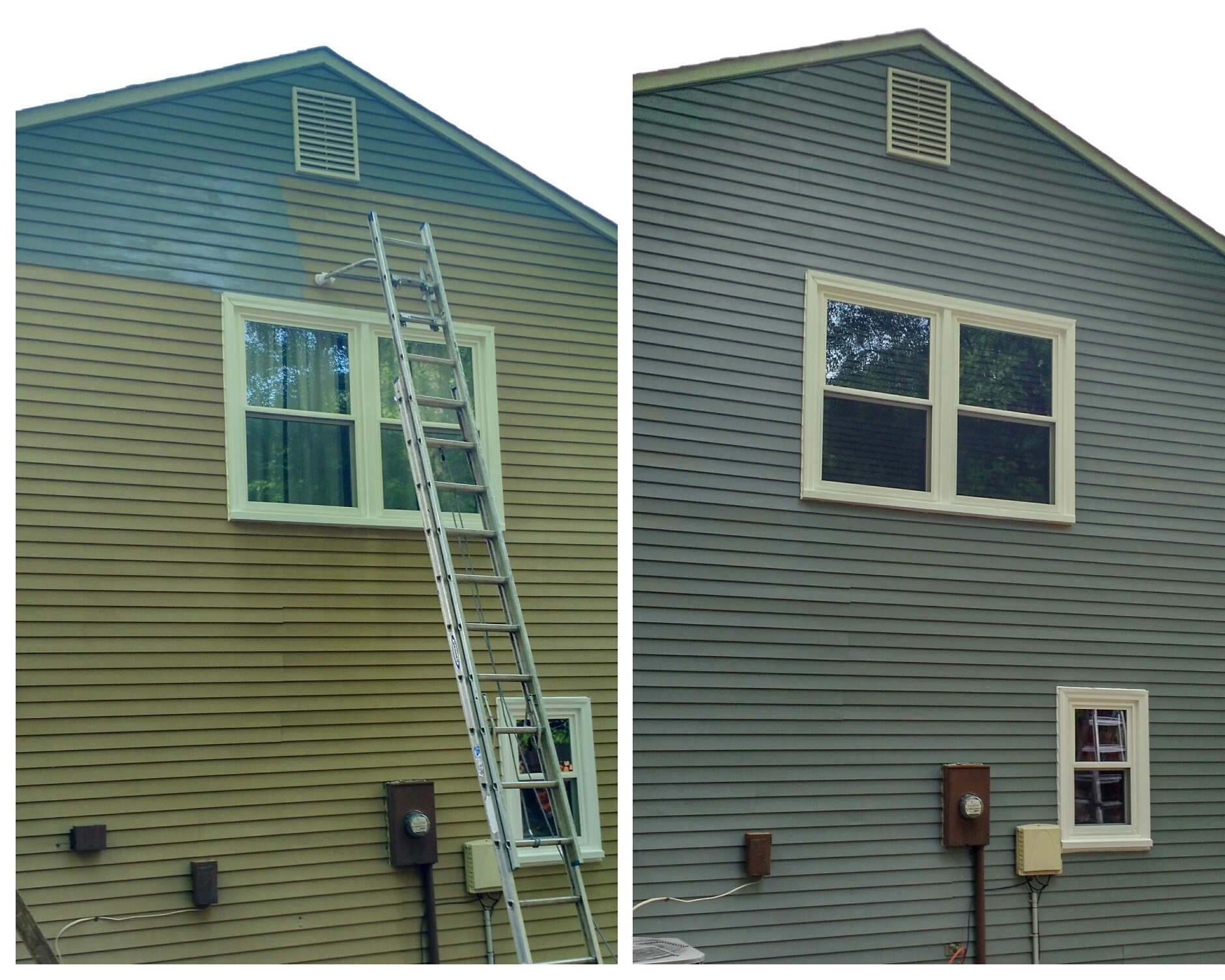 Fredericksburg exterior house painting