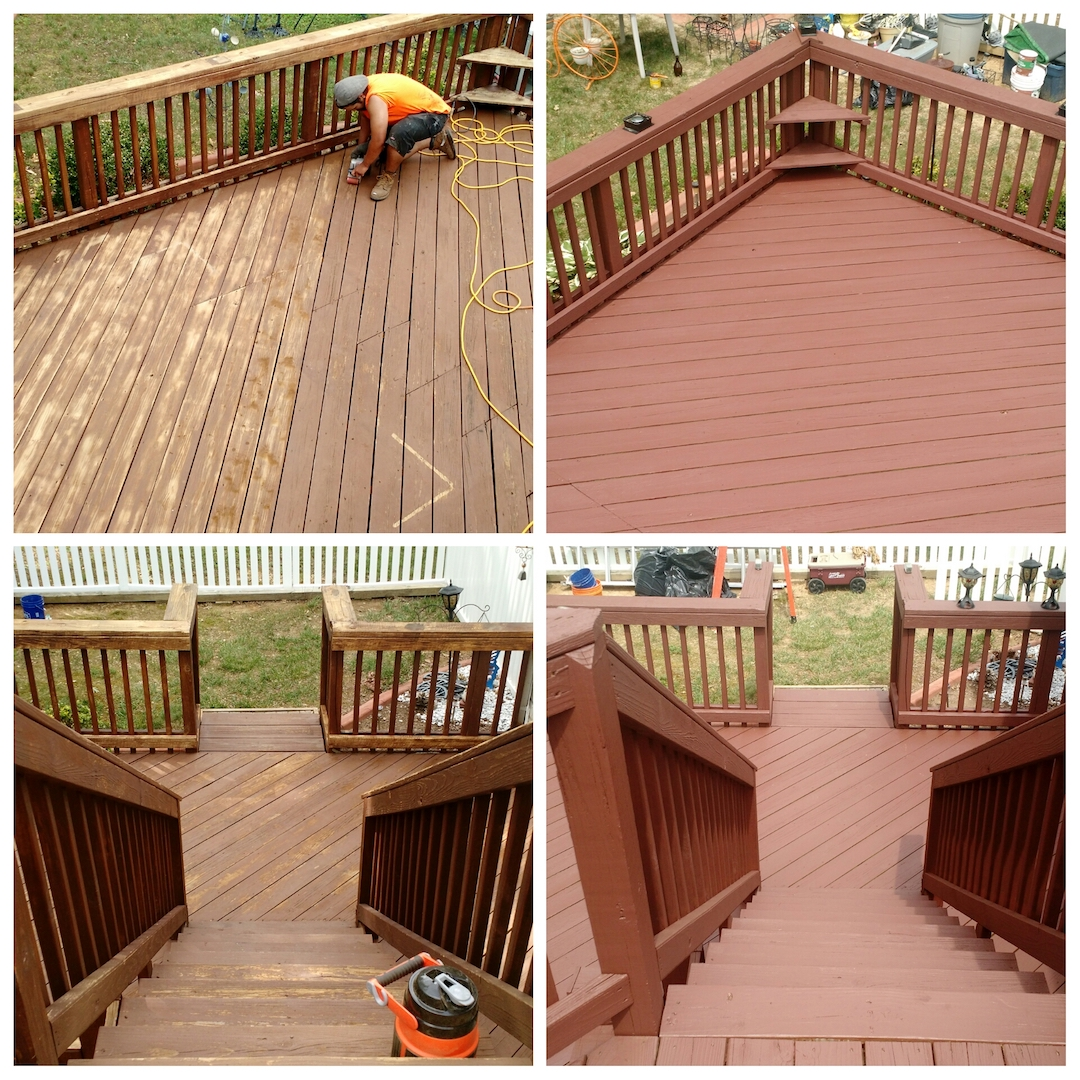 We Offer Custom Deck And Fence Services From Staining Sealing To Resurfacing Repair Also Stain Concrete
